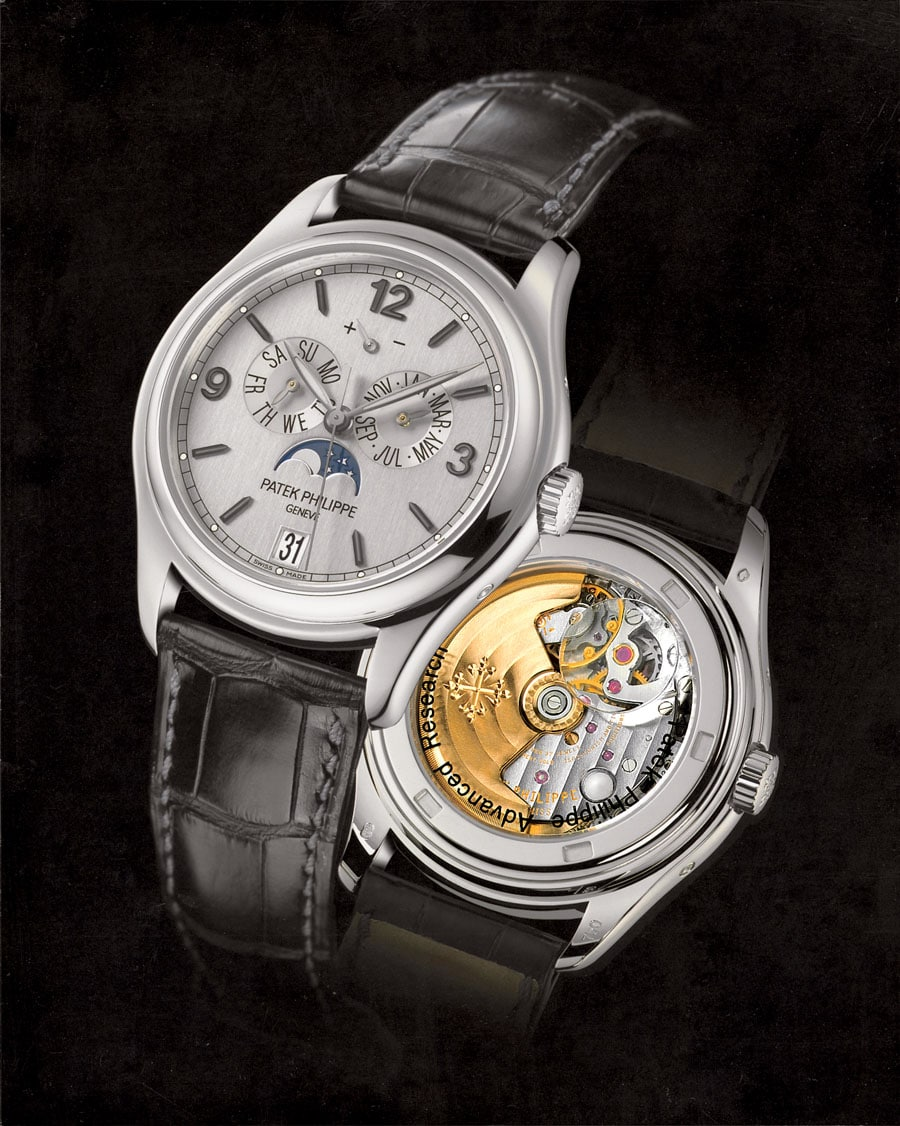 Patek Philippe: Jahreskalender Referenz 5250 Advanced Research
