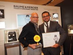 Baume & Mercier Preisverleihung