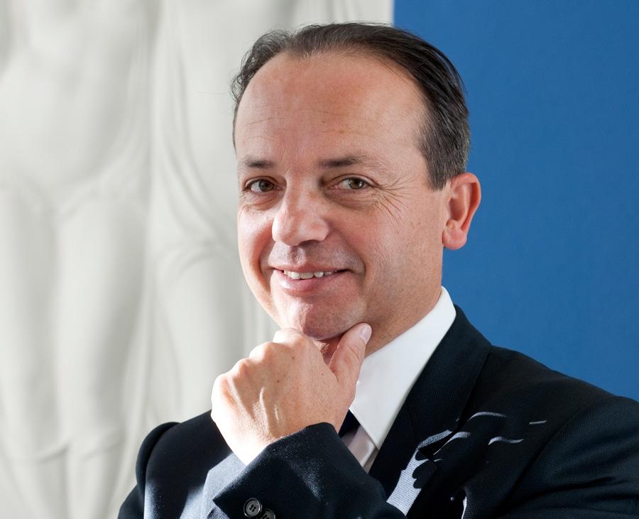 Chef, Firmeninhaber und kreativer Kopf der Manufaktur: Christophe Claret