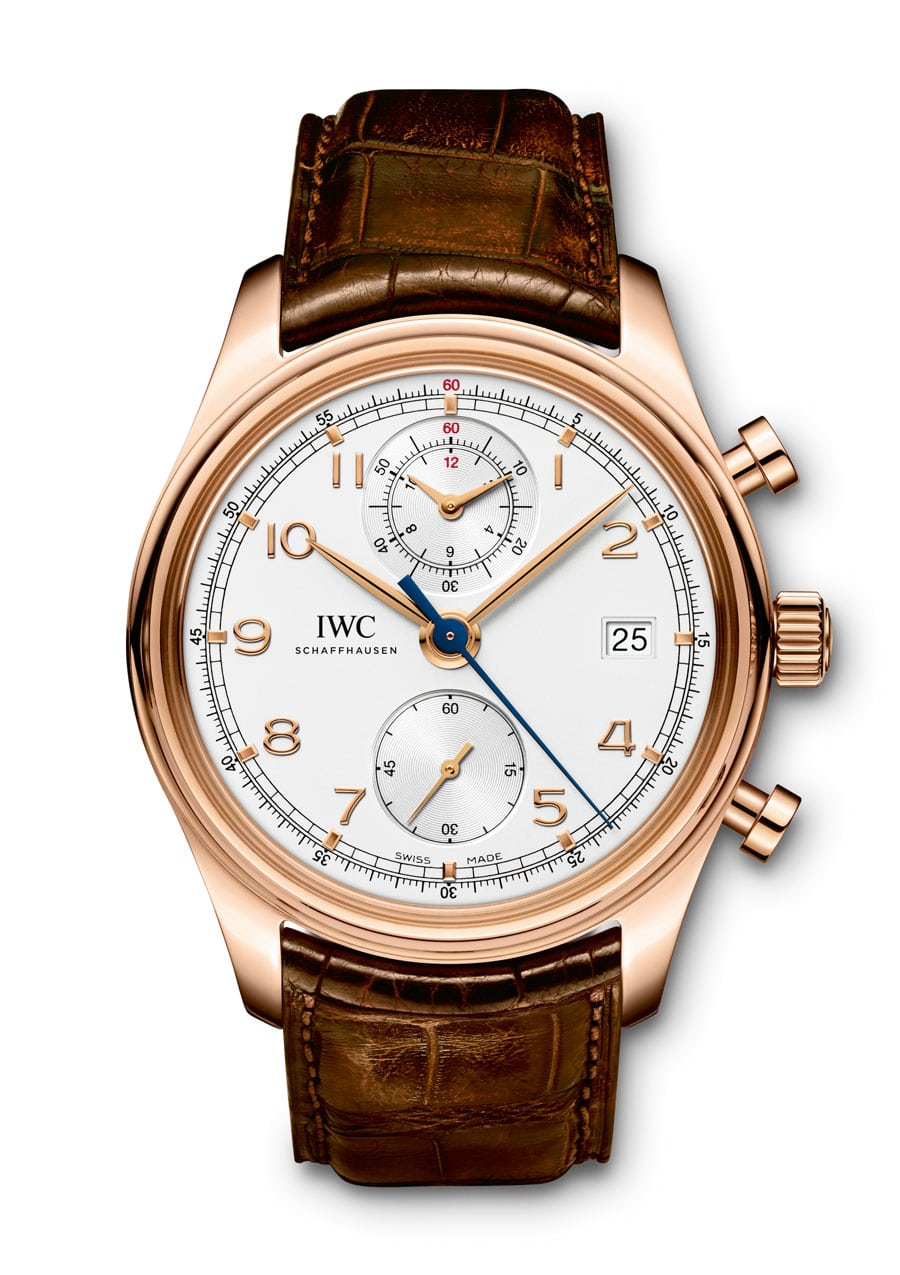 Chronograph mit Flyback-Funktion: IWC Portugieser Chronograph Classic