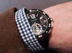 Cartier Calibre Diver, Stahl, 6600 Euro
