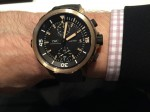 IWC AT Bronze Wristshot