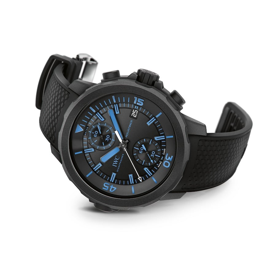 "IWC: Aquatimer Chronograph Edition ""50 Years Science for Galapagos"""