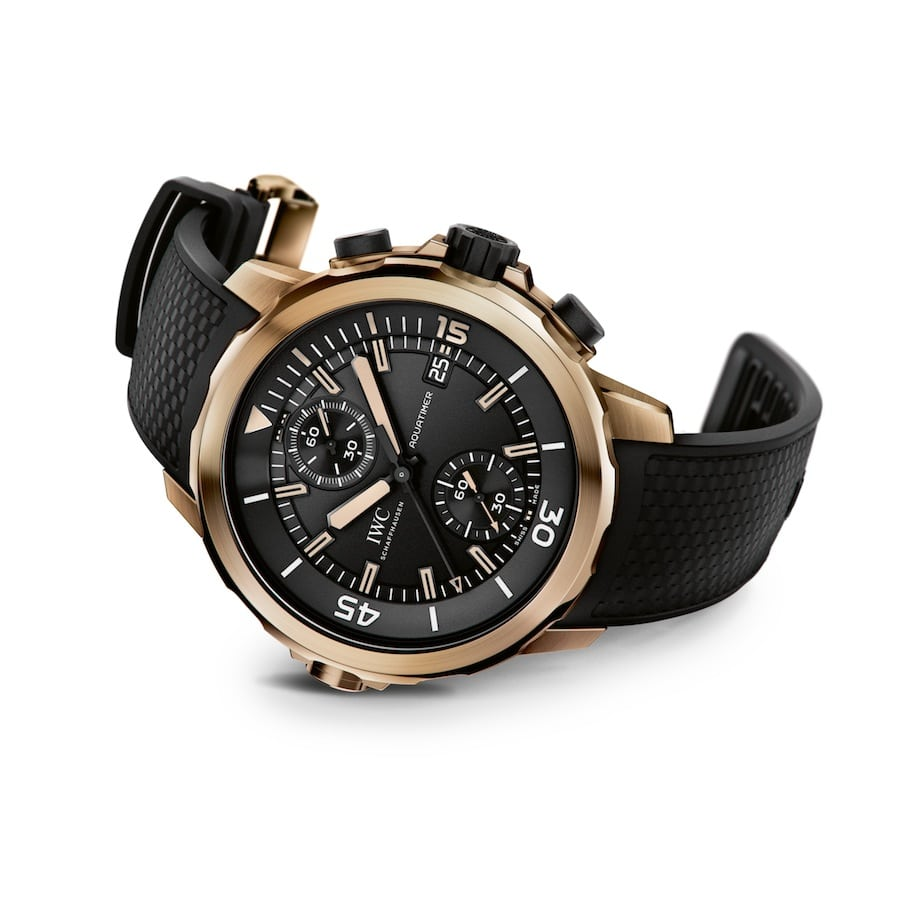 IWC: Aquatimer Chronograph Edition Expedition Charles Darwin