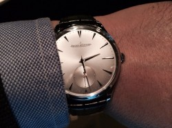 Jaeger-LeCoultre Master Ultra Thin 38,5 mm, Stahl, 5550 Euro