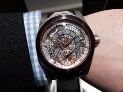 Montblanc TimeWalker Chronograph 100, 100stel Sekunde, Titan und Carbon, 50.000 Euro