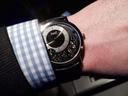 Piaget Altiplano 900P, flachste mechanische Uhr, Weißgold, 24.200 Euro