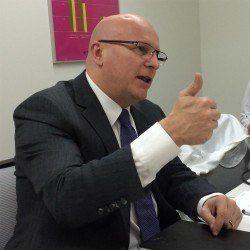 Stéphane Linder, CEO von TAG Heuer