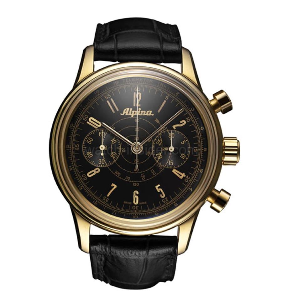 Alpina: Heritage Pilot Chronograph Automatic
