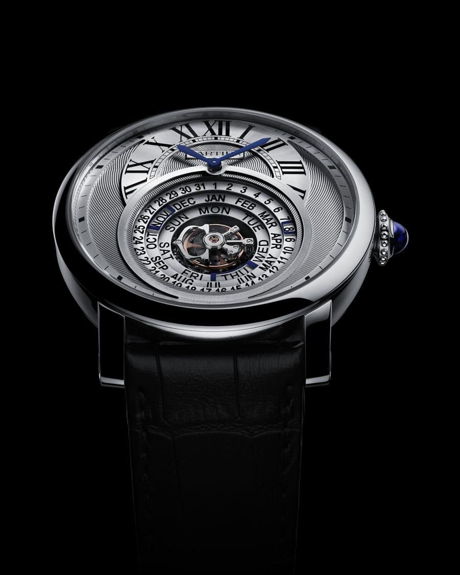 Die Goldmedaille Technik wurde Cartier für die Rotonde de Cartier Astrocalendaire verliehen.
