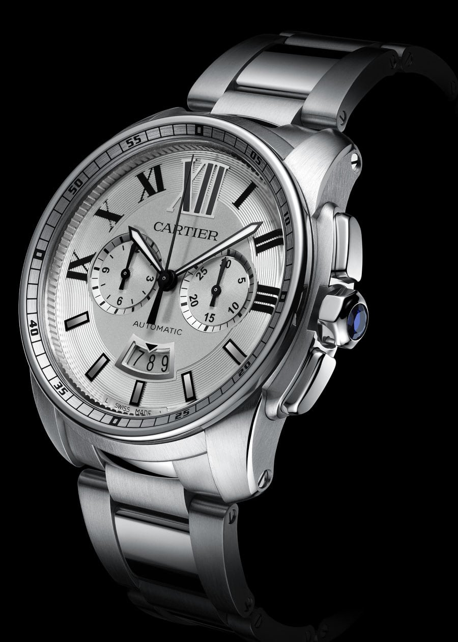 Cartier: Calibre de Cartier Chronograph