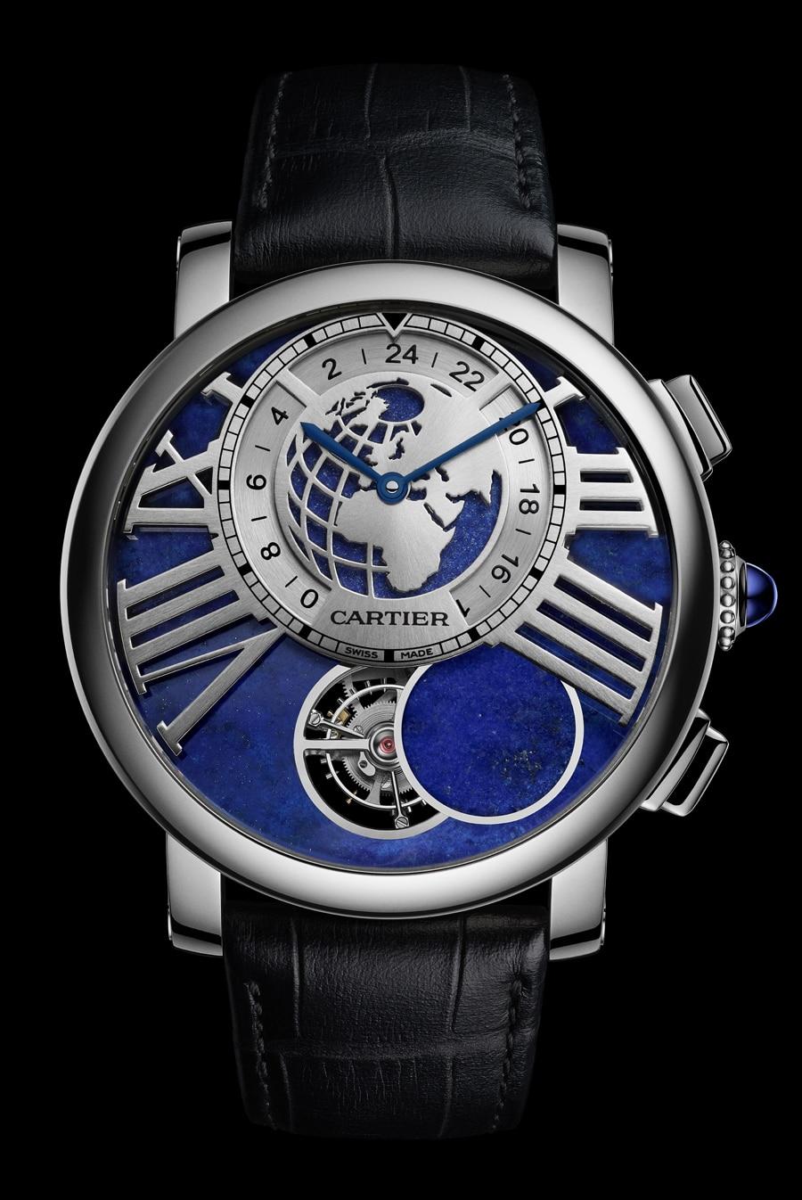 Cartier: Rotonde de Cartier Earth and Moon