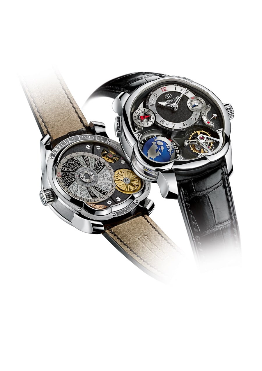 Greubel Forsey: GMT Platin