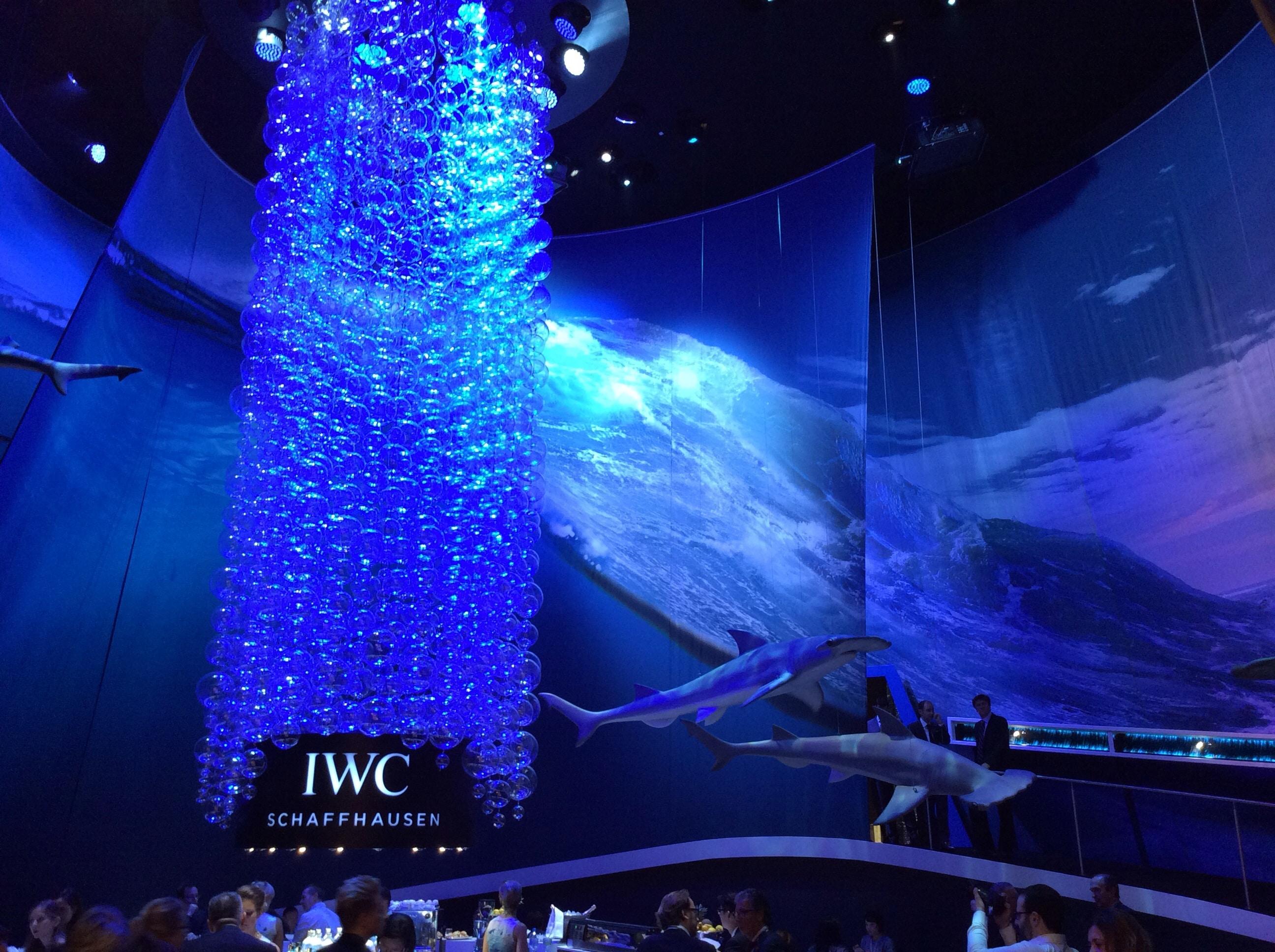 Der IWC-Stand im Zeichen der neuen Aquatimer