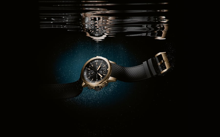 IWC: Aquatimer Chronograph Expedition Charles Darwin