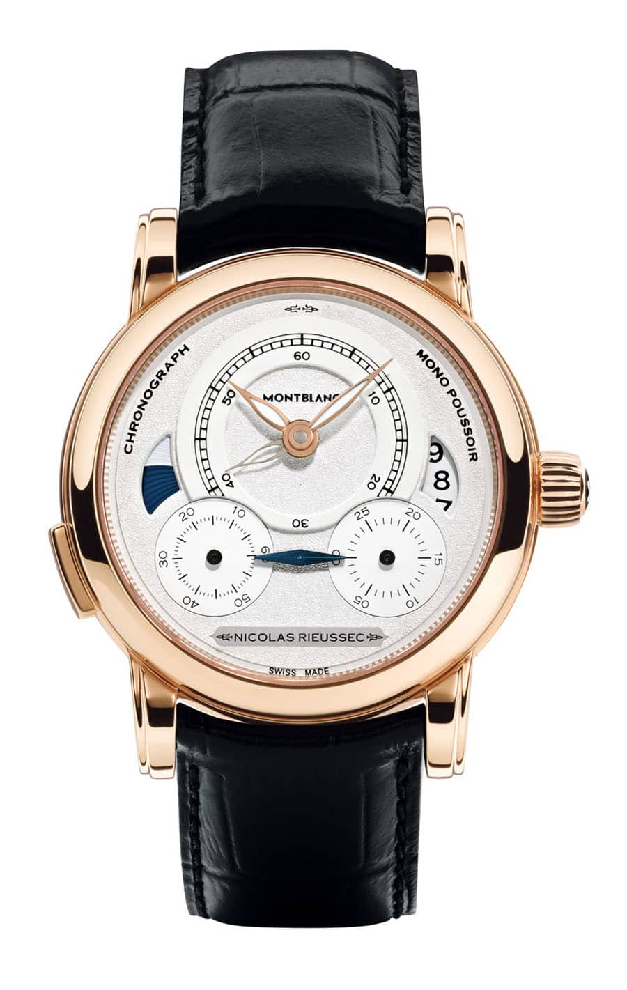 Montblanc: Homage to Nicolas Rieussec, Rotgoldgehäuse