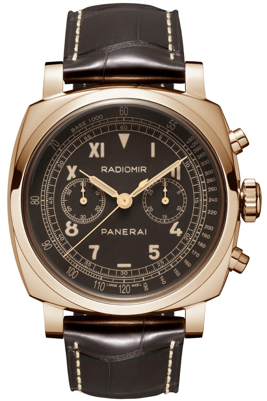 Panerai: Radiomir 1940 Chronograph Oro Rosso