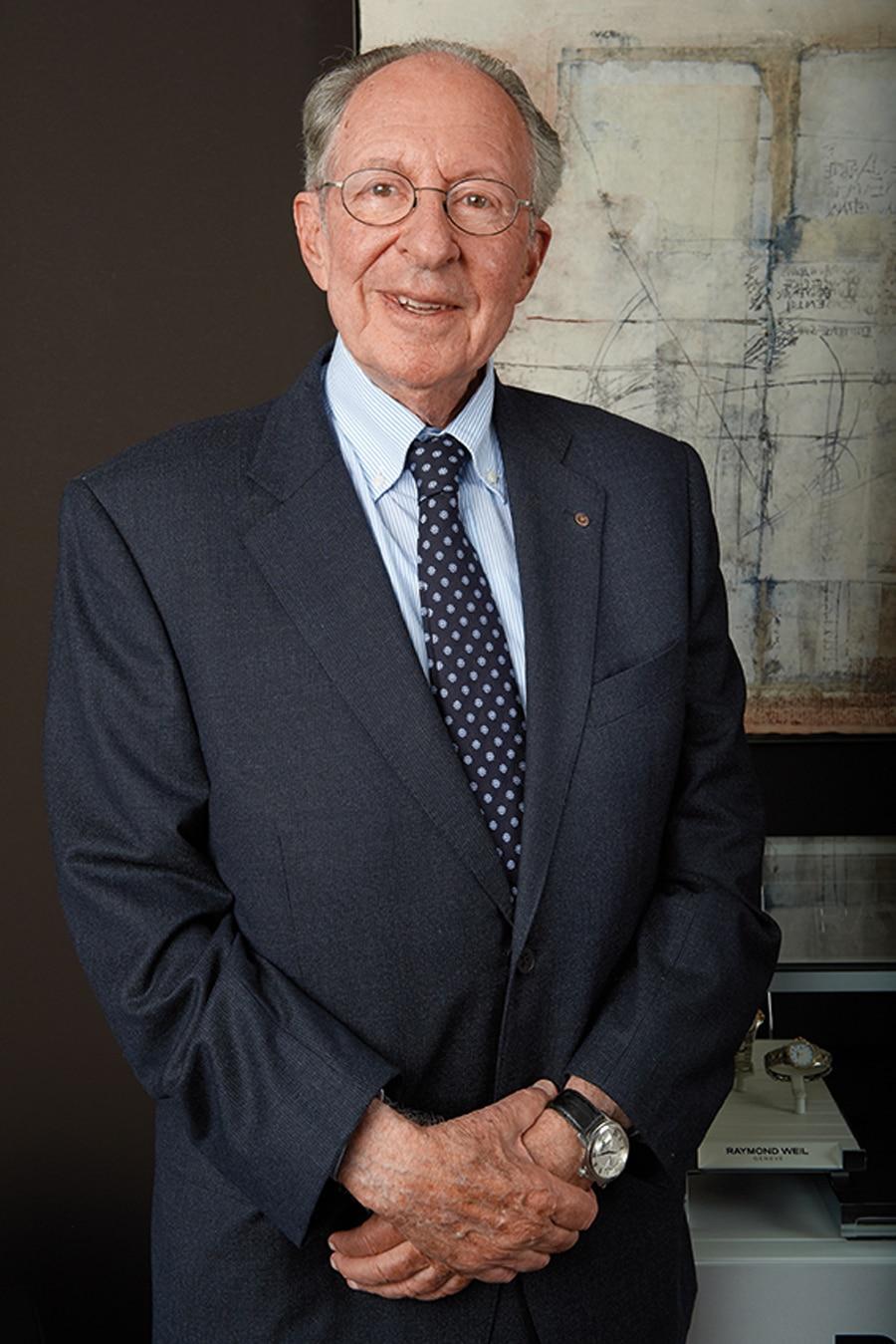 Raymond Weil, verstarb mit 87 Jahren