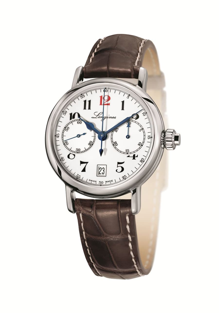 Longines: The Longines Column-Wheel Single Push-Piece Chronograph