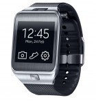 Samsung's Smartwatch Galaxy Gear 2 in Schwarz