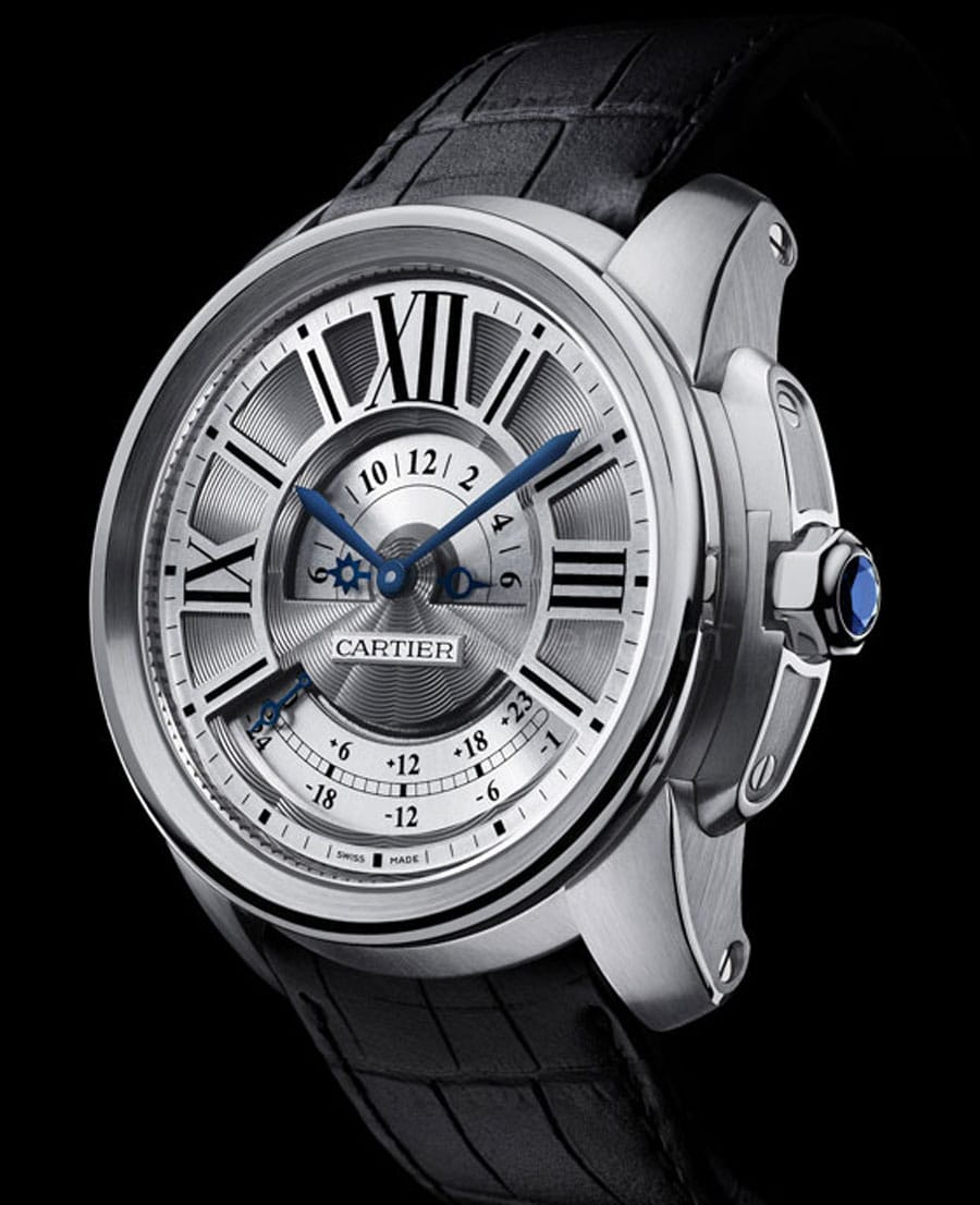 Cartier: Calibre de Cartier Weltzeit