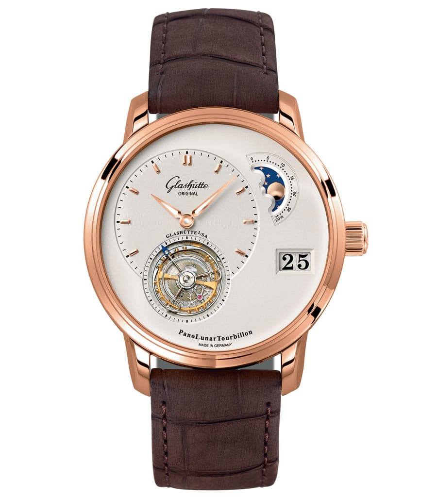 Glashütte Original: Pano Lunar Tourbillon