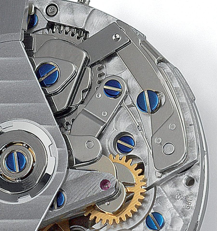 Schaltrad gegen Kulissensteuerung: Großserienwerk Valjoux 7750 mit Kulissensteuerung von der Eta