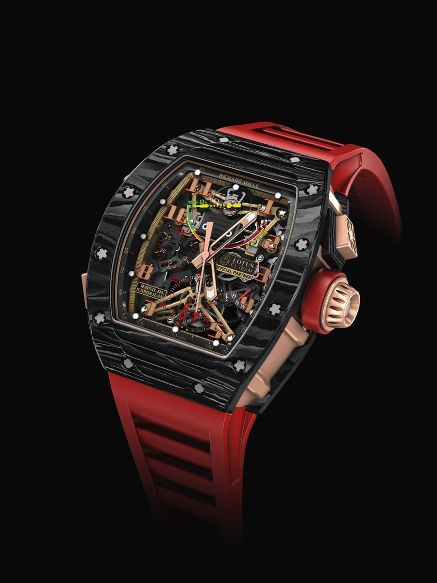 Richard Mille: RM 50-01 Lotus F1 Team Romain Grosjean