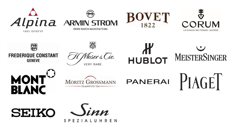 Uhrendinner IBG 2014: Markenübersicht