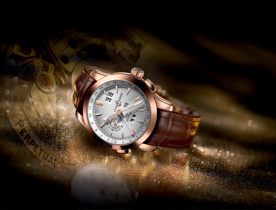 Ulysse Nardin: Perpetual Manufacture, Rotgold
