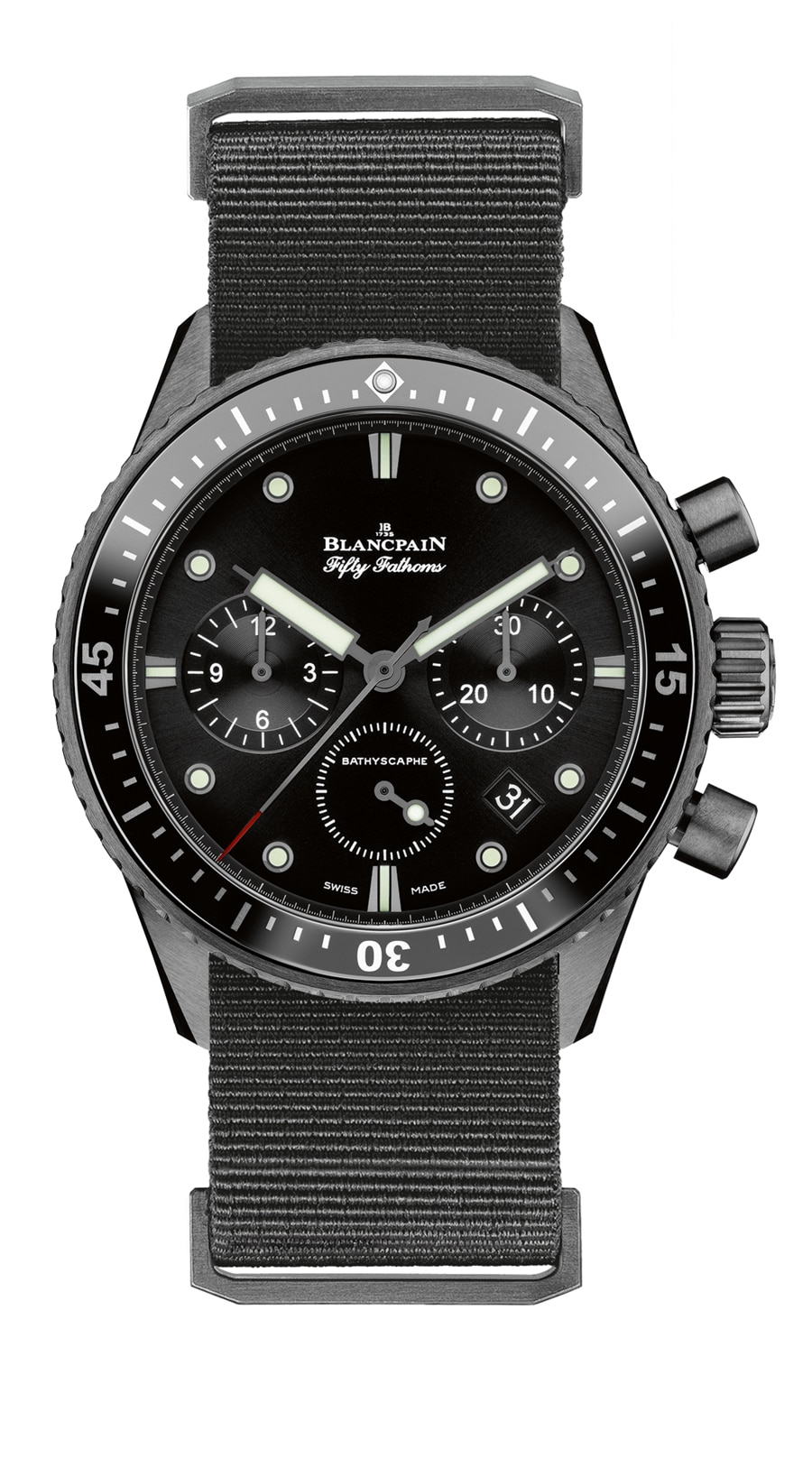 Blancpain: Fifty Fathoms Bathyscape Flyback-Chronograph