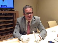 Omega-Vizepräsident Jean-Claude Monachon