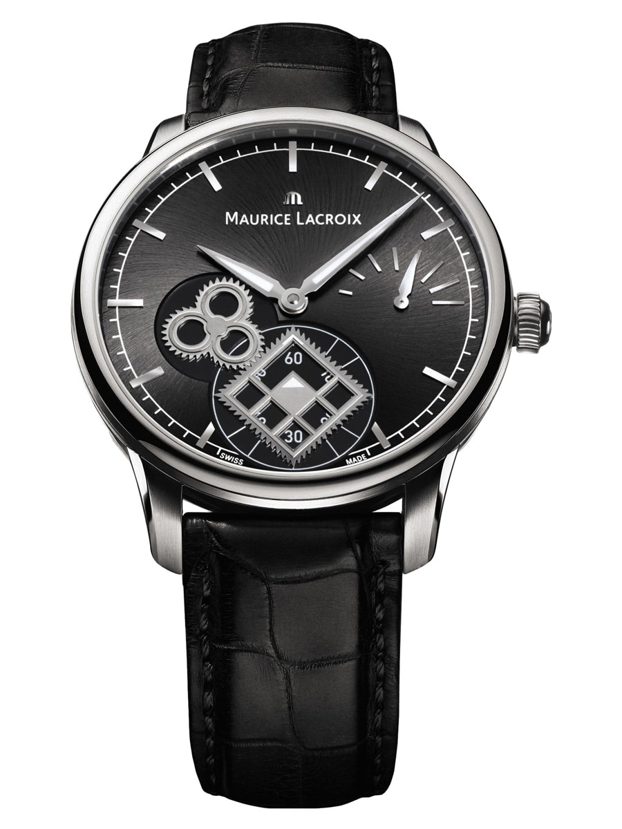 Maurice Lacroix: Masterpiece Square Wheel Classic