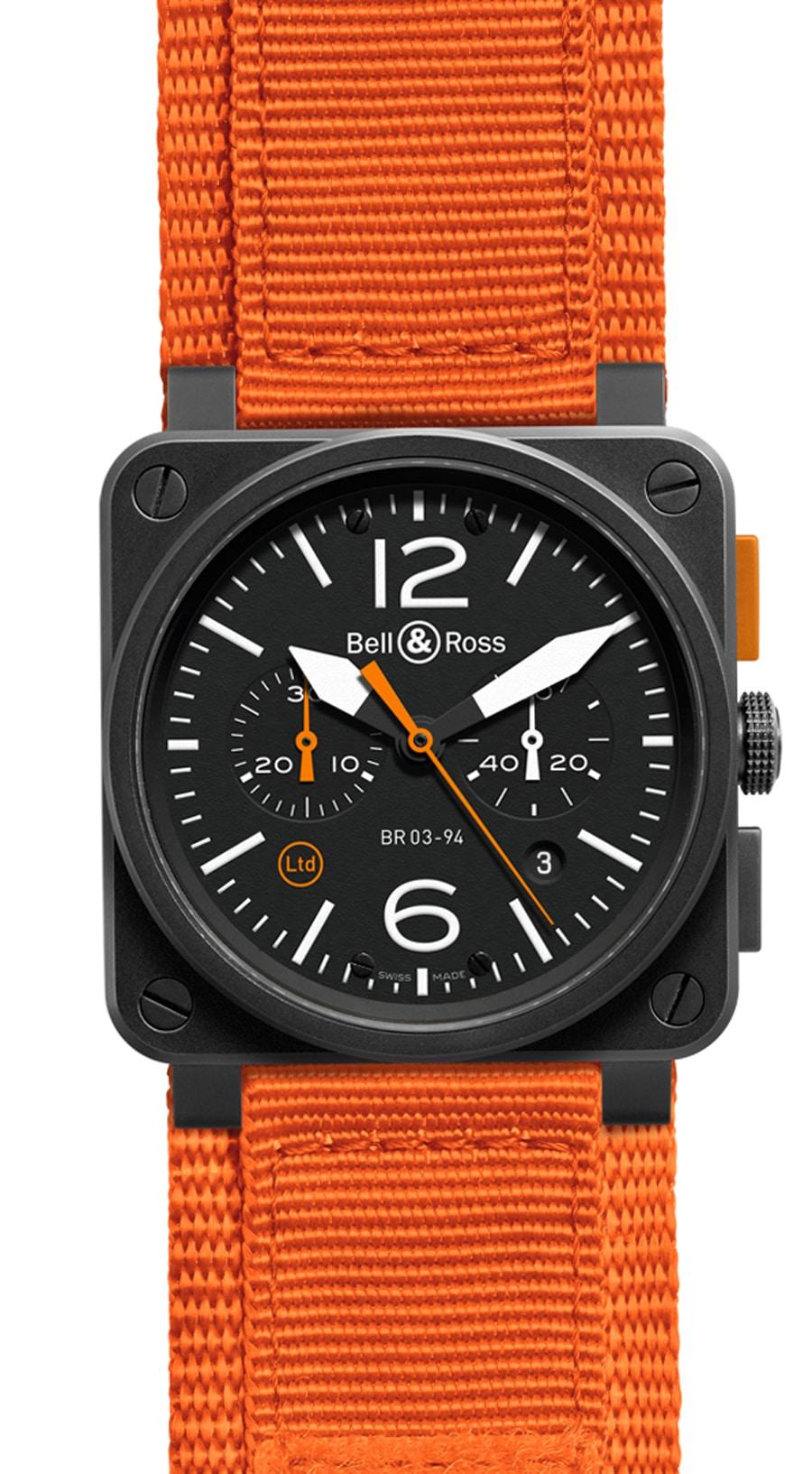 Bell & Ross: BR 03-94 Carbon Orange