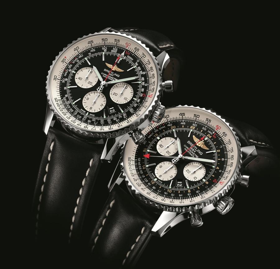Breitling Navitimer 01 und Navitimer GMT