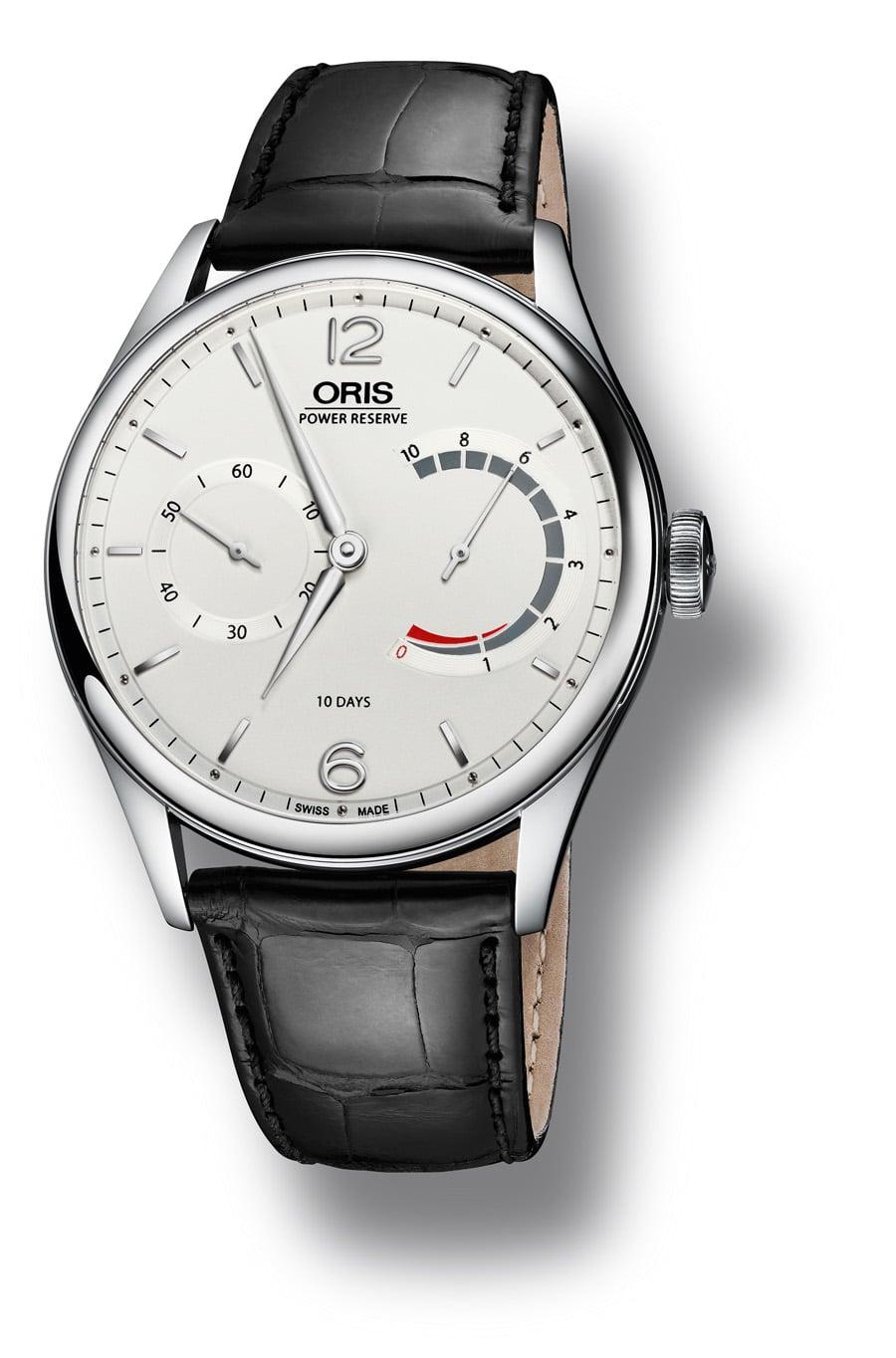 Oris: 110 Years Limited Edition, Edelstahlgehäuse