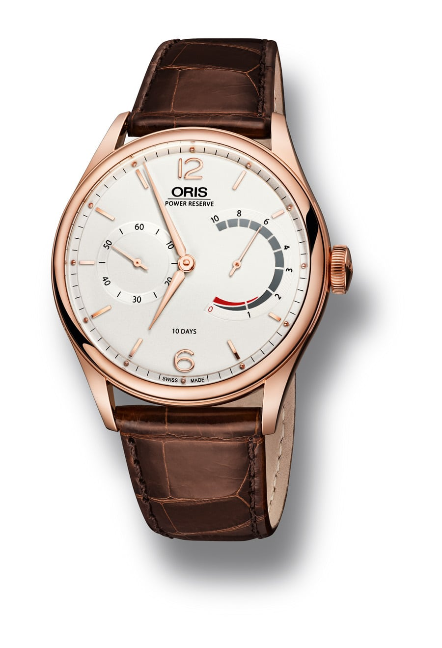 Oris: 110 Years Limited Edition, Rotgoldgehäuse