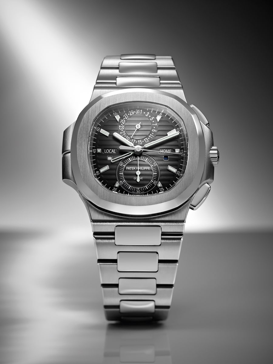 Patek Philippe: Nautilus Travel Time Chronograph