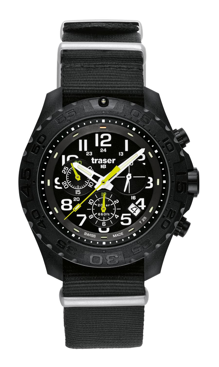 traser® H3 Outdoor Pioneer Chronograph mit Natoarmband