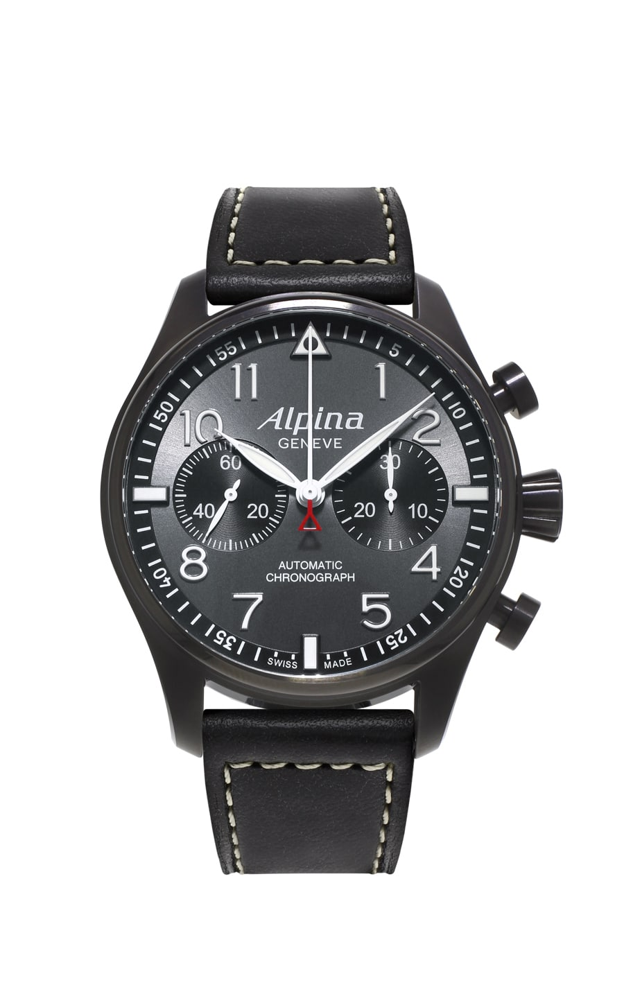 "Alpina: Startimer Pilot Automatic Chronograph ""Black Star"""