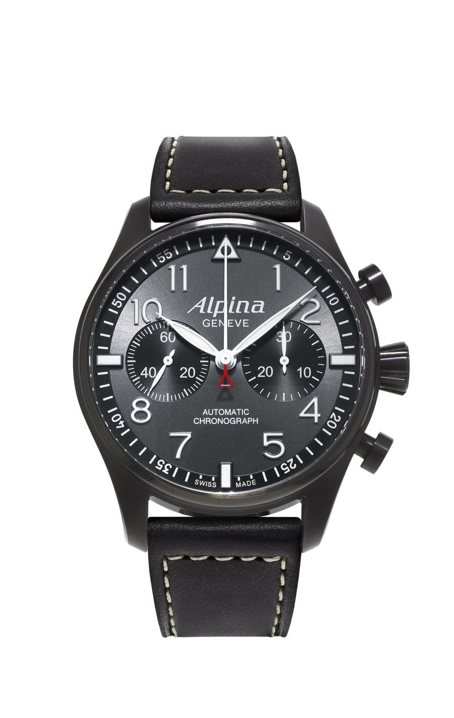 "Alpina: Startimer Pilot Automatic Chronograph ""Black Star"""