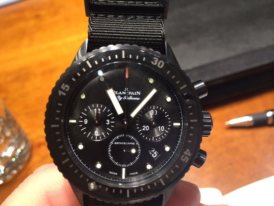 Blancpain: Fifty Fathoms Bathyscaphe Flyback-Chronograph