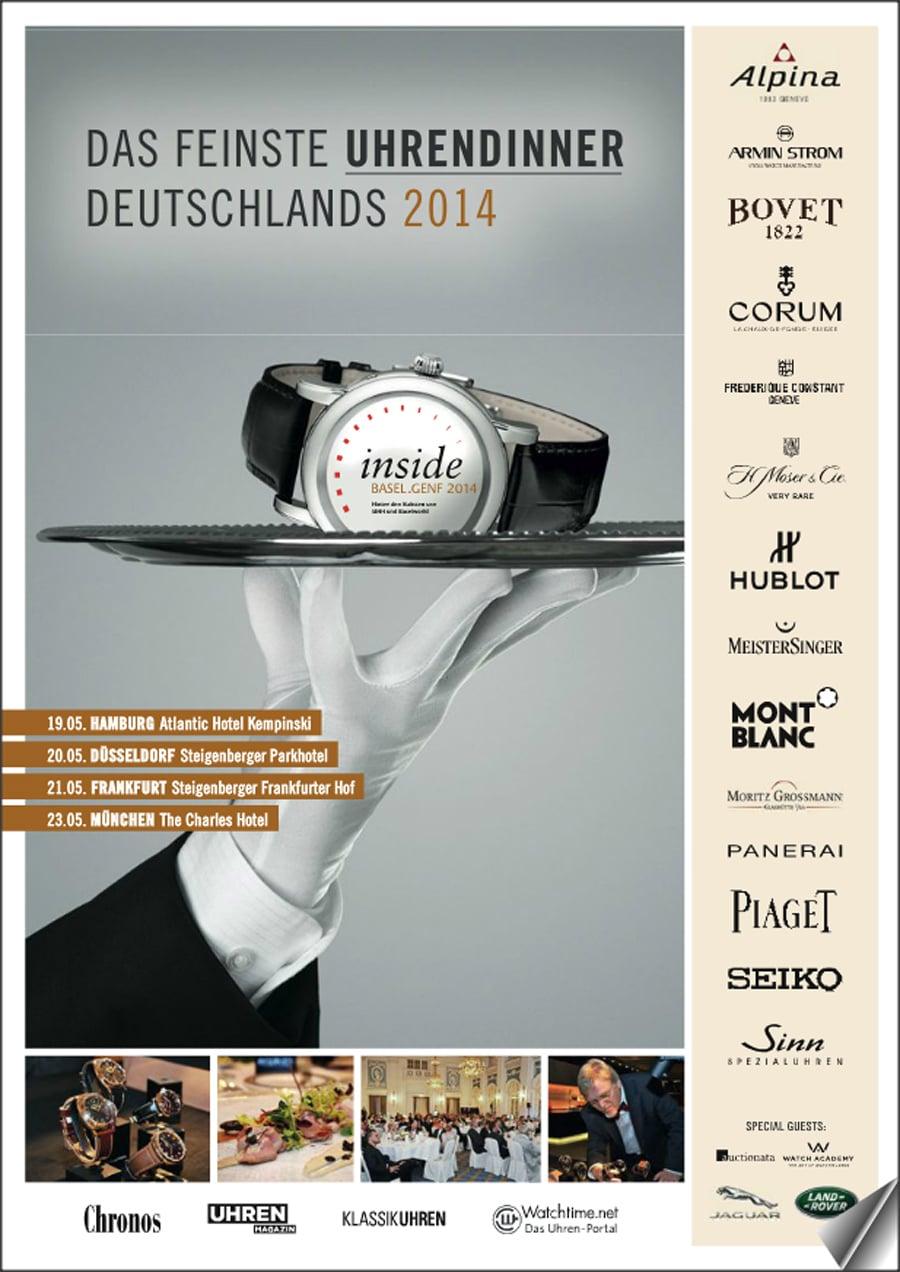ePaper-Booklet: IBG 2014 – Das feinste Uhrendinner Deutschlands