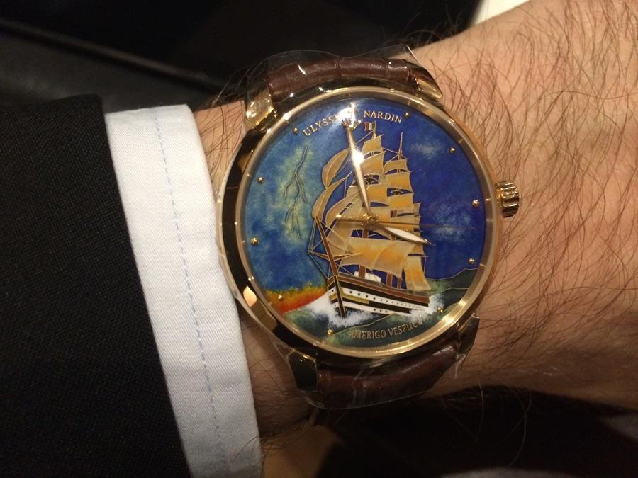 Ulysse Nardin Classico Amerigo Vespucci (Rotgold, 36.900 Euro)