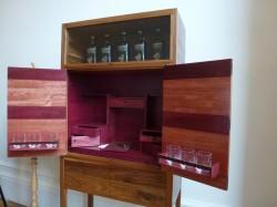 Whisky-Kabinett von John Galvin aus Edinburgh