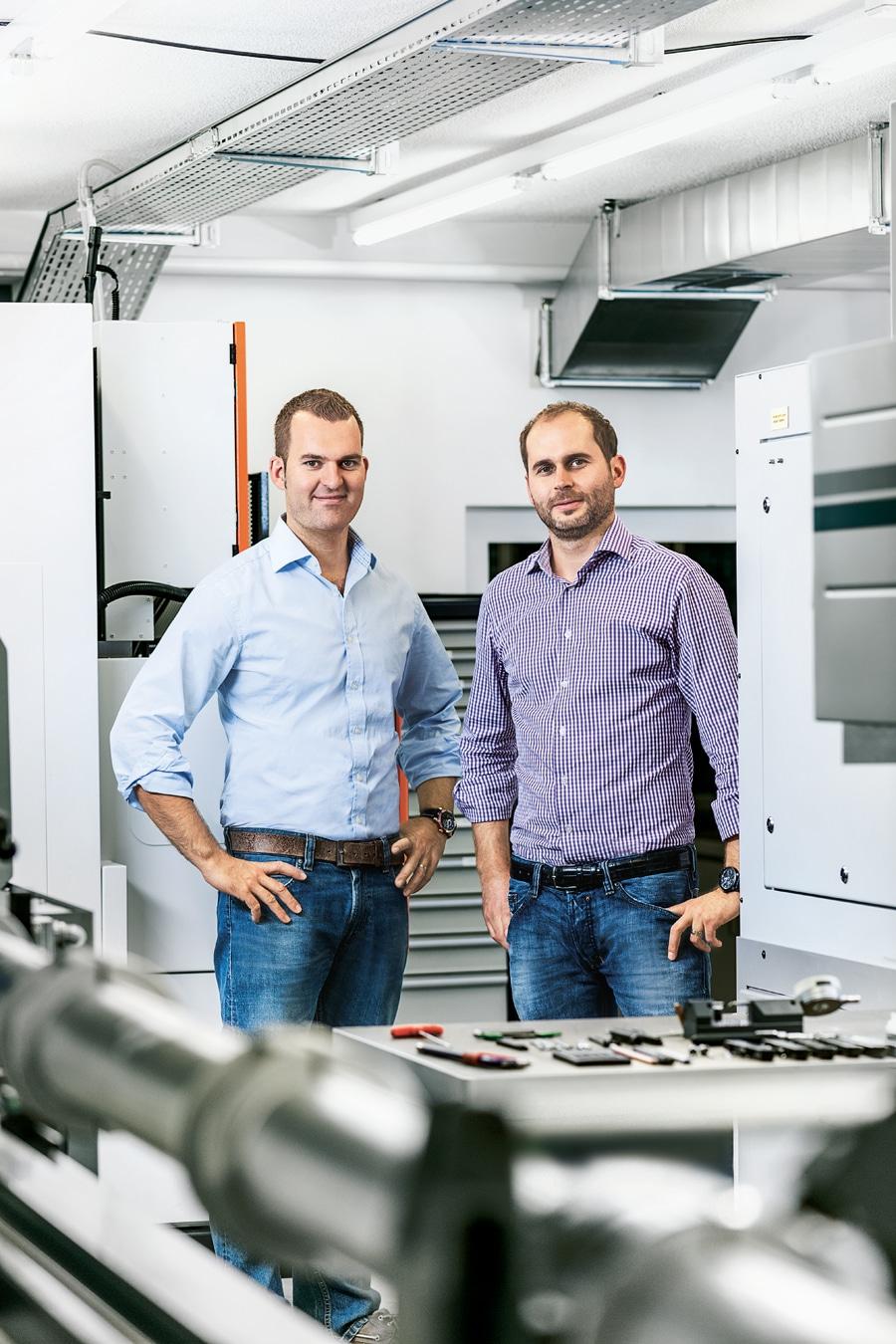 Armin Strom: Direktor Claude Geisler, Inhaber Serge Michel