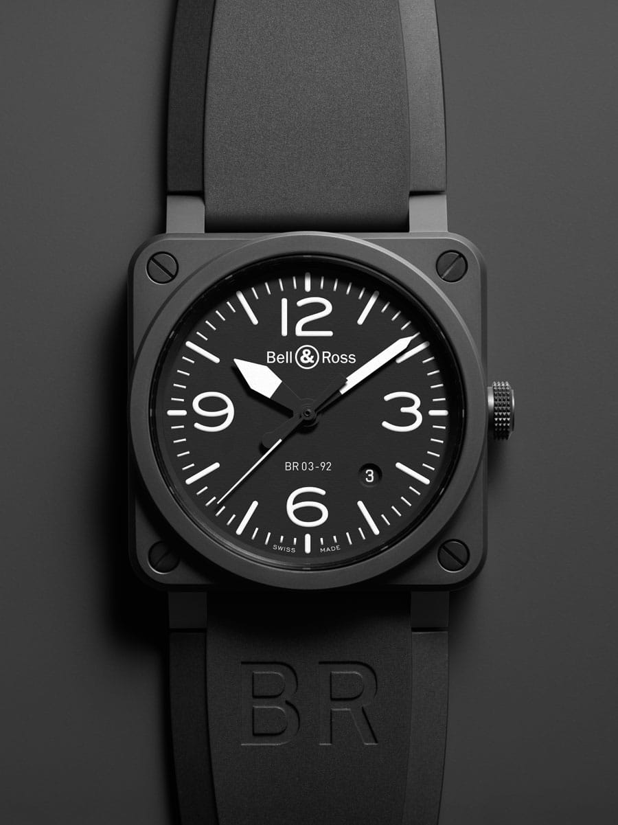 Bell & Ross: BR 03-92 Carbon Ceramic