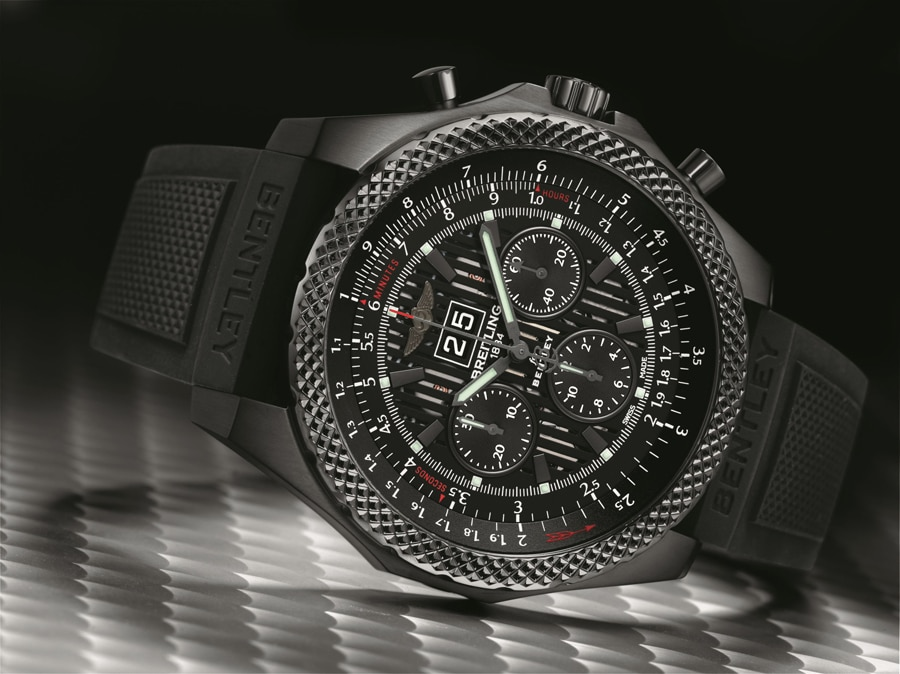 Breitling for Bentley: Bentley 6.75 Midnight Carbon