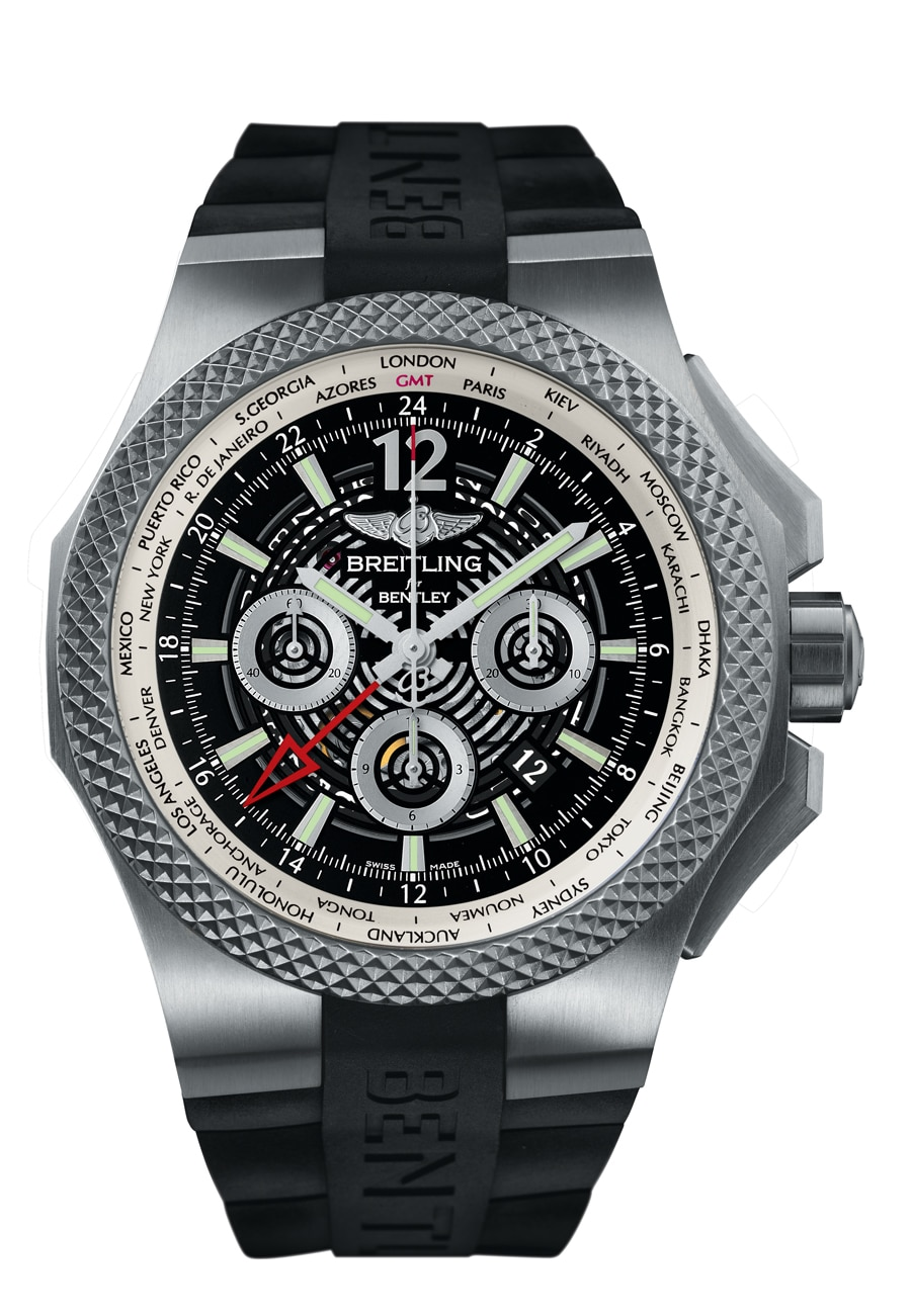 Breitling for Bentley: Bentley GMT Light Body B04