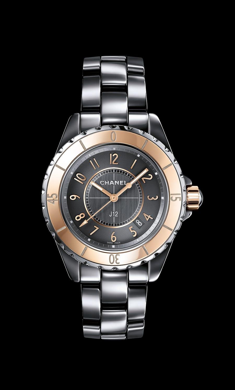 Chanel: J12 Chromatic Beige Gold
